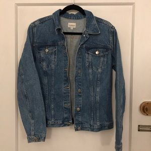 Sundance denim jacket large